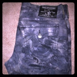 Men's true religion fatigue jeans Size 38